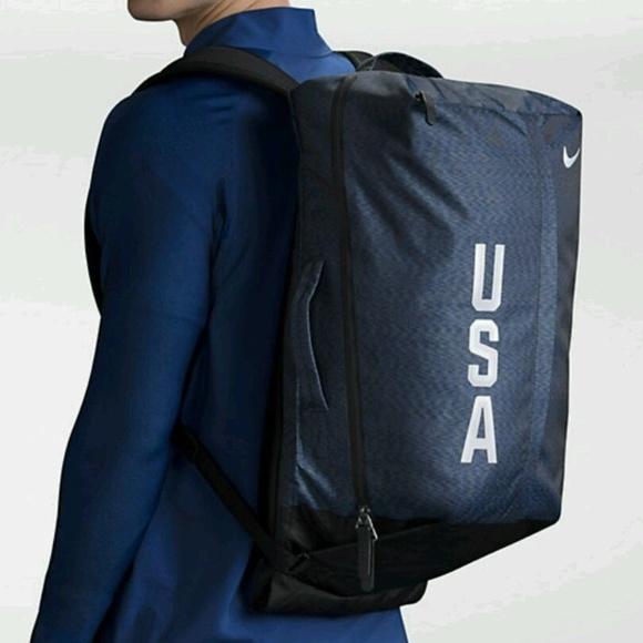 ... New NIKE Team USA Olympics Ultimatum Backpack buy popular feb29 45723  ... 9772cbcfa43fc